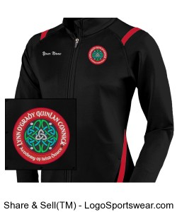 YOUTH Girls Fitness Jacket Design Zoom