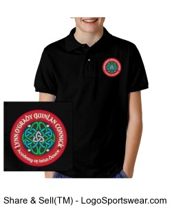 YOUTH Unisex Polo Shirt Design Zoom