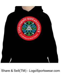 YOUTH Unisex Pullover Hooded Sweatshirt Design Zoom