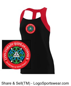 YOUTH Girls Performance Tank Design Zoom