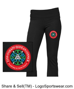 YOUTH Girls Yoga Pant Design Zoom