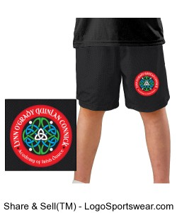 YOUTH Boys Mesh ID Short Design Zoom