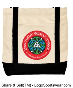 LOQC Feis Bag Design Zoom